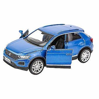Diecast Vedä takaisin auto lelut seos Simulaatio Kilpa-auto Malli Sininen