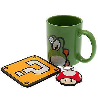 Super Mario Yoshi Mug and Coaster Set