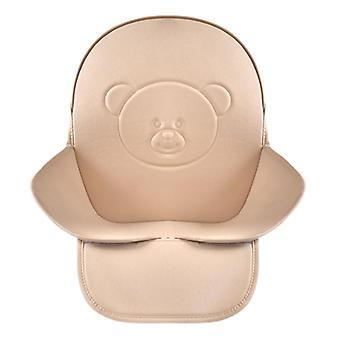 Кожа Водонепроницаемый Универсальный стульчик для кормления Подушка сиденья Чехол коврик Для кормления