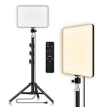 Led Selfie Lighting Panel With Remote Control Video Lamp 2700k-5700k Photo Studio Photography Lighting With Tripod For Live