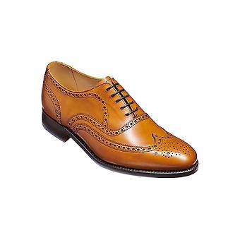 Barker Malton - Cederkalv | Handgjorda Läder Oxford Brogues | Barker Skor