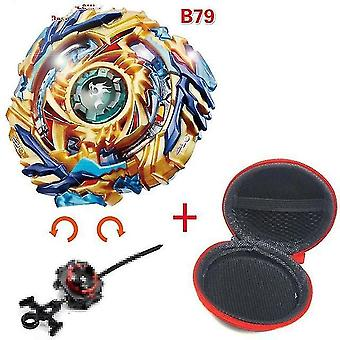 5 + Beyblade Burst Funken Turbo b48 Werfer, Metall Top Gyro Blade Klinge Spinning Kampf Spielzeug (B79)