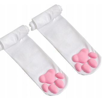 3D Mačiatko Labka Bavlnené ponožky Cosplay
