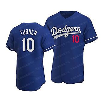 Men's Baseball Jersey #13 Muncy #14 Hernandez #7 Urias #10 Turner Dodgers Player Jersey 90s Hip Hop Game Fans Sports Baseball Uniforms Size S-xxxl