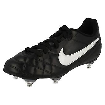 Junior Boys Nike Football Boots JR Tiempo Rio