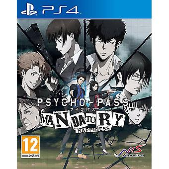 Psycho-Pass Mandatory Happiness PS4 Game