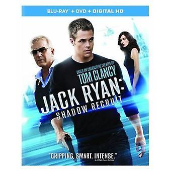 Jack Ryan: Shadow recluta [BLU-RAY] USA importare
