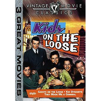 Ghosts on the Loose/Kid Dynamite/They Made Me a Cr [DVD] USA import