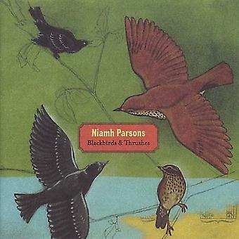 Niamh Parsons - importation USA merles & grives [CD]