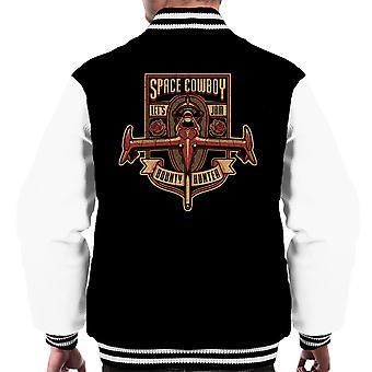 Just A Humble Bounty Hunter Cowboy Bebop Men's Varsity Jacket