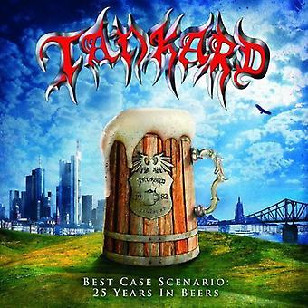 Tankard - Best Case Scenario-25 Years in bieren [CD] USA importeren