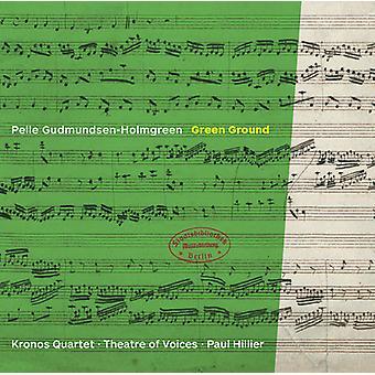 Gudmundsen-Holmgreen / Kronos Quartet - Gundmundsen-Holmgreen: Green Ground [CD] USA import