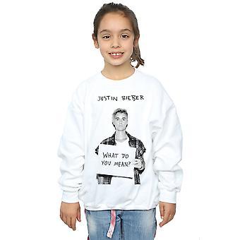 Justin Bieber Girls What Do You Mean Sweatshirt