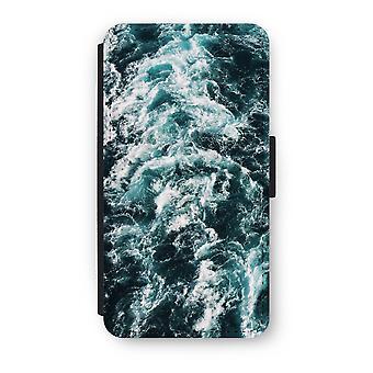 iPhone X フリップ ケース - 海の波