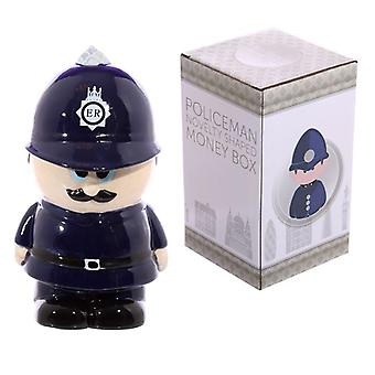 השוטר קרמיקה קופסת כסף