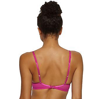 Gossard 11117 Women's Gypsy Fuchsia Pink Lace Underwired High Apex Plunge Bra