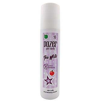 Pozer Pet Vanity Too White Colour Enhancing Fresh Scent Dog Shampoo