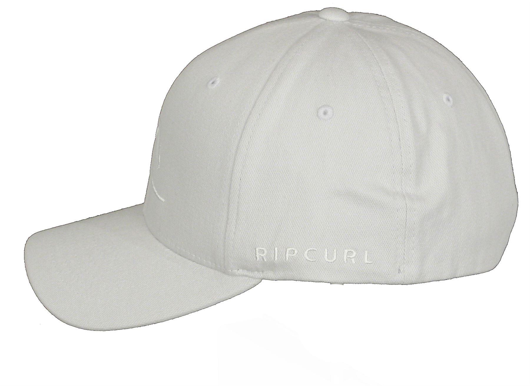 Rip Curl Curve Peak Flexfit Cap ~ Tepan light grey