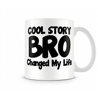 Cool Story Bro trykte krus
