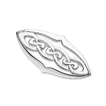 Argent sterling éternité celtique traditionnel Design entrelacs broche