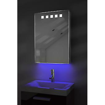 Ambient Bathroom Cabinet With Sensor & Internal Shaver Socket k259W