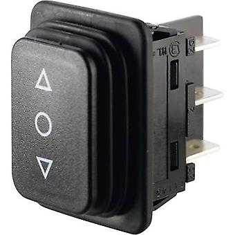 Marquardt Toggle switch 01939.3314-01 250 V AC 14 A 2 x (On)/Off/(On) IP65 (front) momentary/0/momentary 1 pc(s)