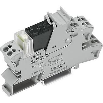 WAGO 788-354 Relay component 1 pc(s) Nominal voltage: 24 V DC Switching current (max.): 16 A 1 change-over