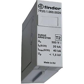 Finder 7P. 20.1.000.0020 surge avleder (plug-in) overspenningsvern for: sentralbord 20 kA 1 PC (er)