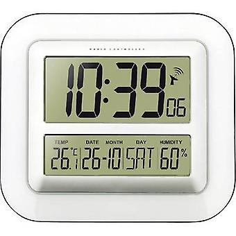 Techno Line WS 8006 Radio Wall clock 280 mm x 245 mm x 32 mm White