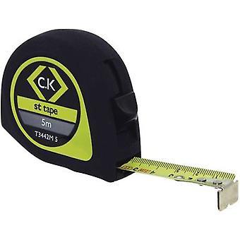 C.K. T3442M 5 Cinta medida 5 m Acero
