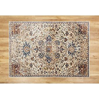 Alhambra 6504 C Ivory Beige  Rectangle Rugs Traditional Rugs
