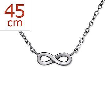 Infinity - 925 Gümüş Düz Kolye - W29935x
