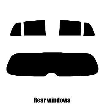 Pre cut window tint - Toyota Urban Cruiser - 2009 to 2014 - Rear windows