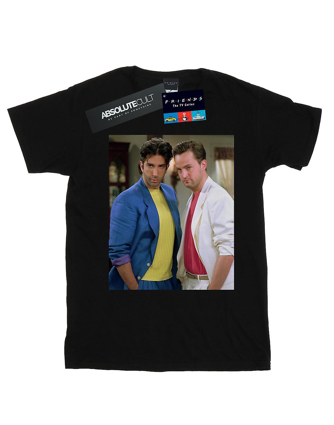 Friends Girls 80's Ross And Chandler T-Shirt