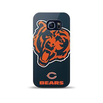 Mizco Sports NFL Oversized TPU Case for Samsung Galaxy S6 Edge (Chicago Bears)