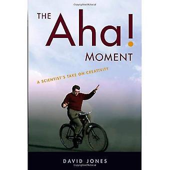 La Aha! Momento: Toma de un científico en creatividad