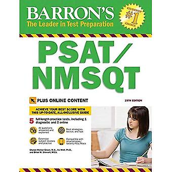 Barron's Psat/Nmsqt, 19th Edition: With Bonus Online Tests