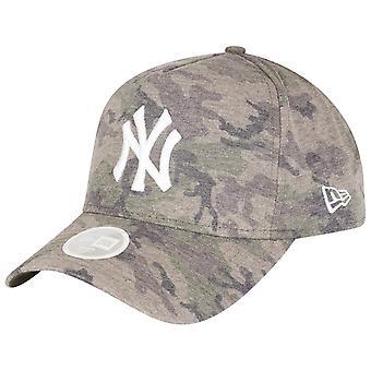 עידן חדש A-מסגרת כובע נשים-ג'רזי NY יאנקיז שטף הסוואה