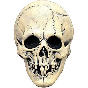 Nightowl Skull White Latx Mask For Halloween