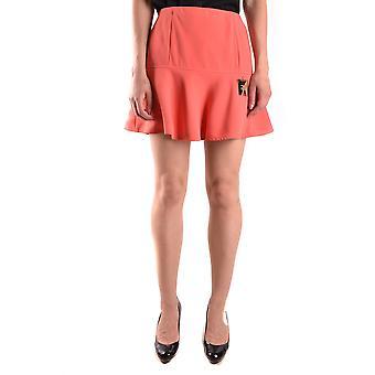 Elisabetta Franchi Ezbc050045 Women's Red Polyester Skirt