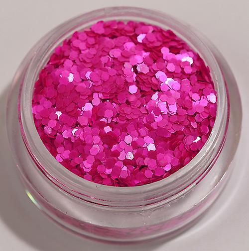 Hexagon glitter Purple (Matt)