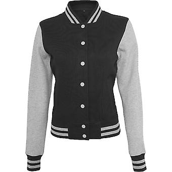 Cotton Addict Womens Sweat Casual Cotton College Jacket