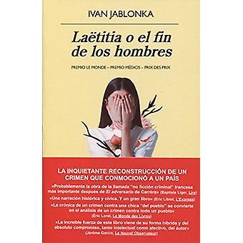 Laetitia O El Fin de Los Hombres by Ivan Jablonka - 9788433979940 Book