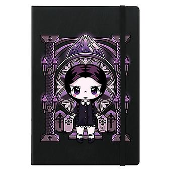Mio Moon Miss Addams A5 Hard Cover Notebook