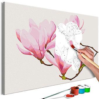 Quadro pintado por você - Floral Twig