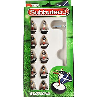 Subbuteo Official Scotland Football Club Team