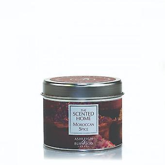 Ashleigh & Burwood duftende hjem tin stearinlys 165g marokkansk krydderi