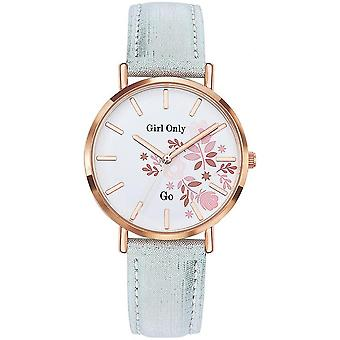 Go Girl Only 699006 - watch leather silver woman
