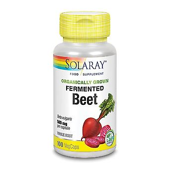 Solaray Organically Growned Fermented Beet Root Vcaps 100 (96072)
