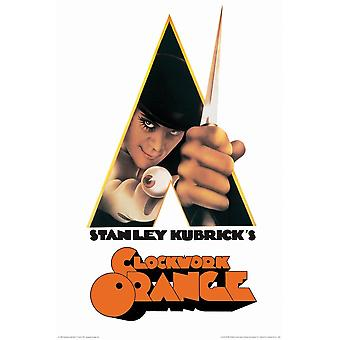Poster - A Clockwork Orange - A Stanley Kubrick Movie 24